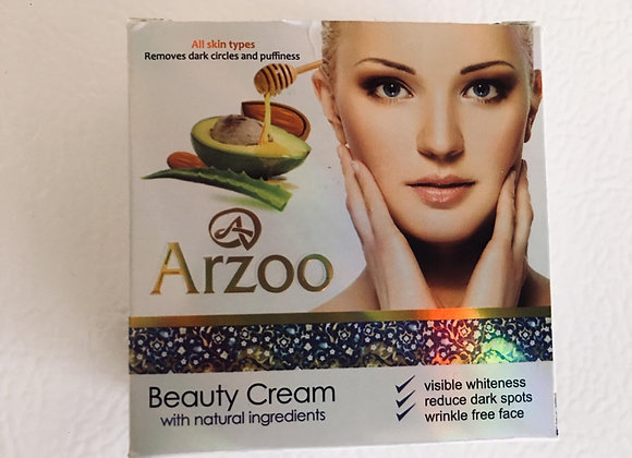 Arzoo Beauty Cream with Natural ingredients