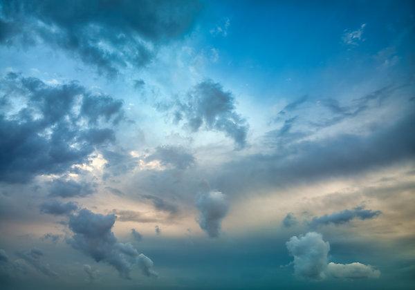 Moody Blue Skies