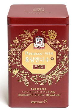 KOREAN RED GINSENG SUGAR FREE CANDY 180g