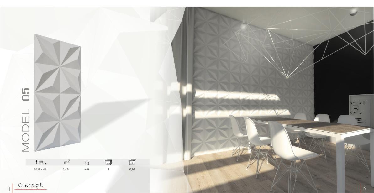 katalog panele gipsowe  Concept str7