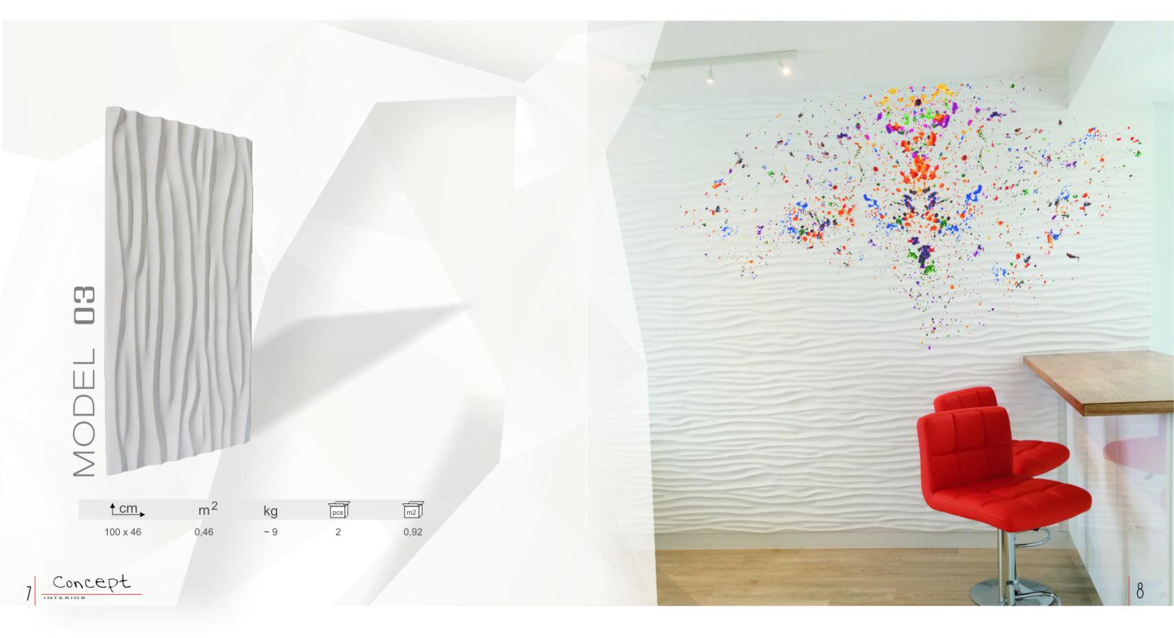 katalog panele gipsowe  Concept str5
