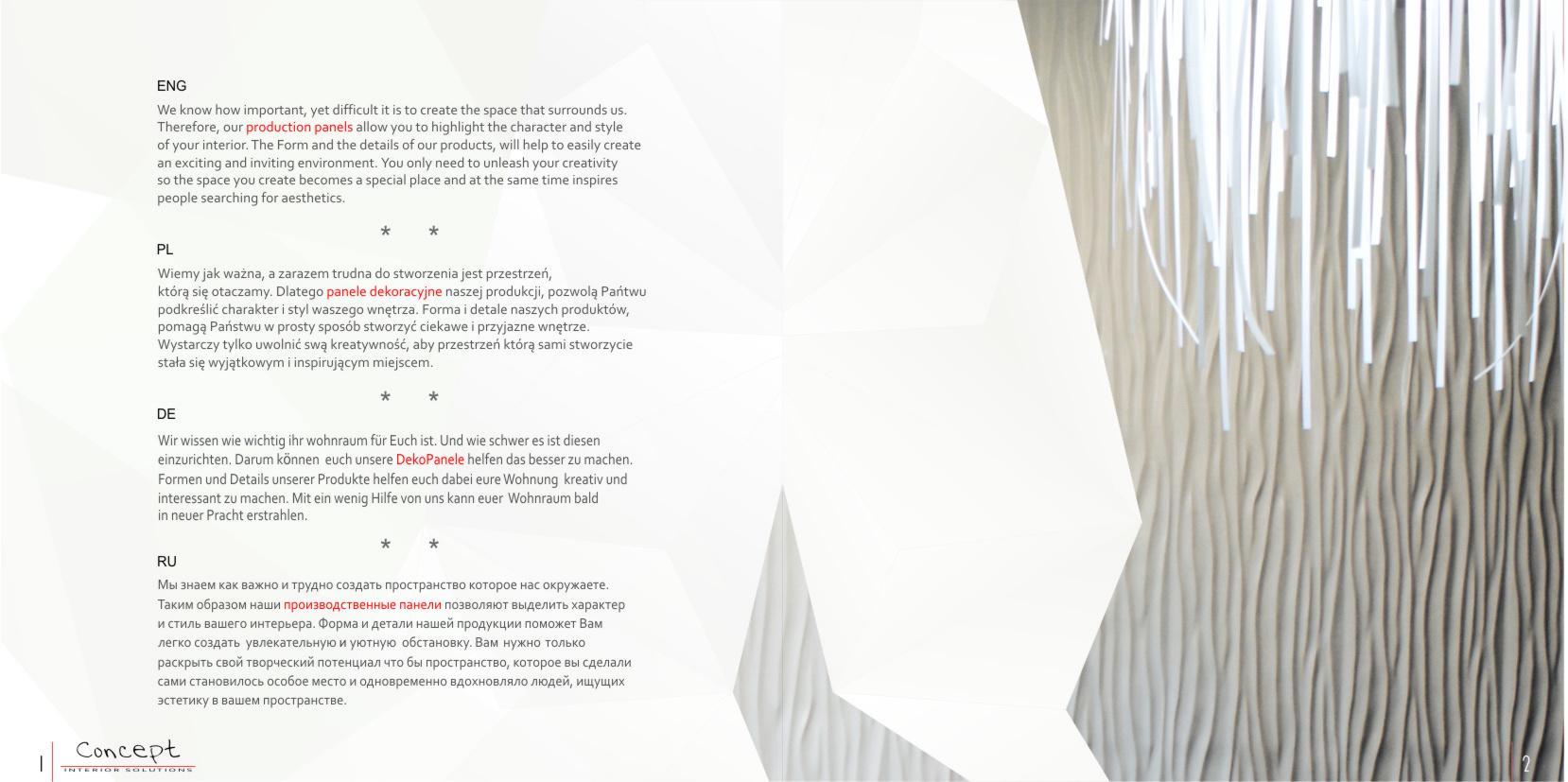 katalog panele gipsowe  Concept str2