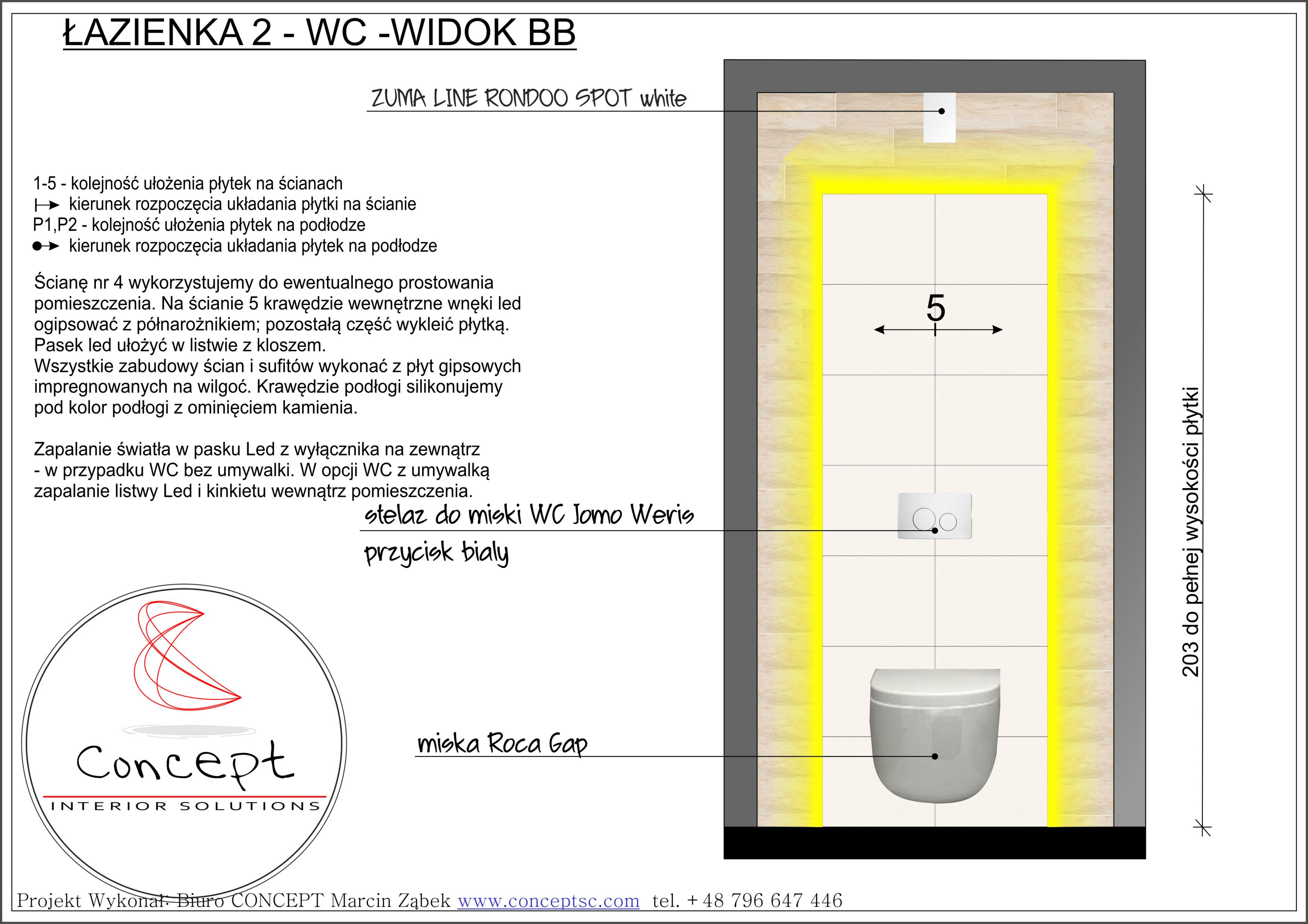 Projekt WC