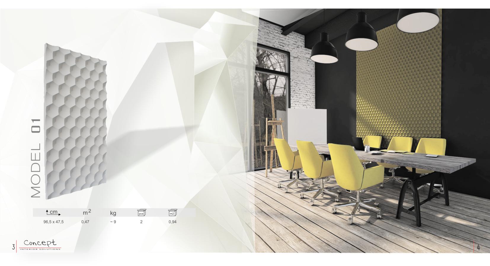 katalog panele gipsowe  Concept str3