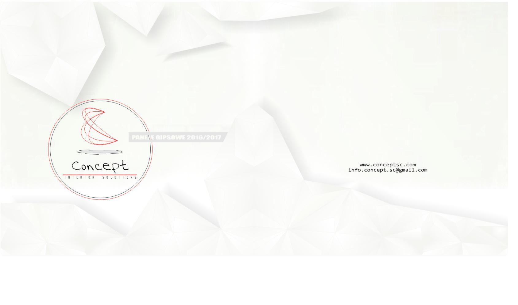 katalog panele gipsowe  Concept str1