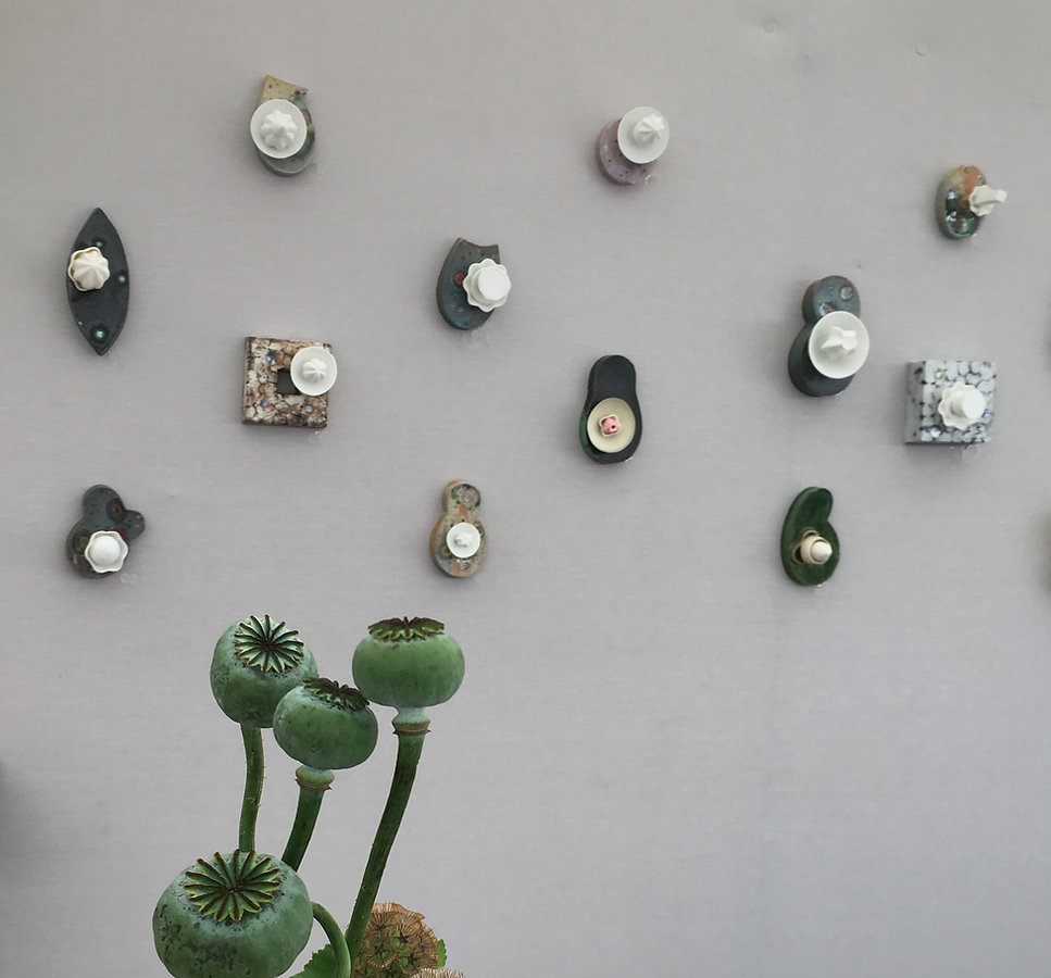 Kazuko Uga's ceramic art work