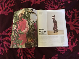 Nicole Smythe-Johnson interviews artist Nari Ward