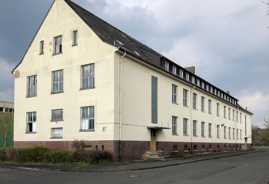 2021 - Altes Küchen- und Kantinengebäude