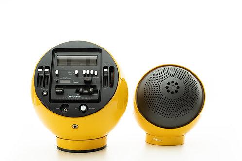 Ensemble Radio / cassette Weltron 2004 jaune