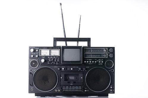 JVC 3090EN TV, radio cassette enregistreur portatif