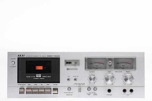 Akai stereo cassette deck GXC-725 D