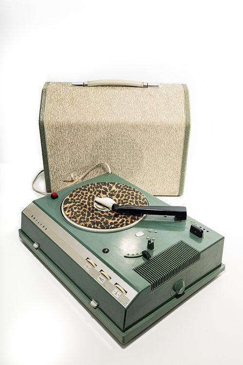 PickUp, tourne disque, ampli et haut-parleur  PHILIPS AG 4856W