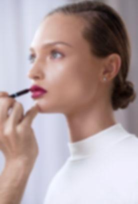 Model Die Lippenstift
