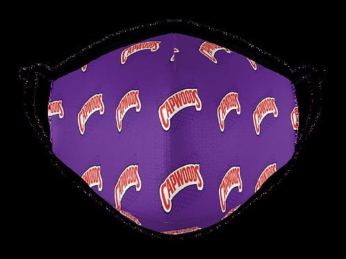 CAPWOODS Face Mask Purple