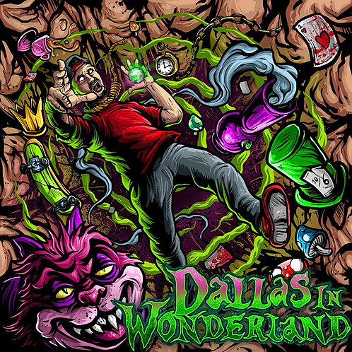 "Dallas In Wonderland 10"" Vinyl"