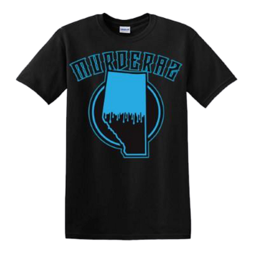 Alberta Murderaz Sub Zero Blue T-shirt