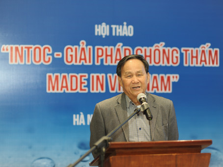 Hội Kiến Trúc Sư Việt Nam chủ trì Hội thảo: INTOC - Giải pháp Chống thấm Made in VIỆT NAM