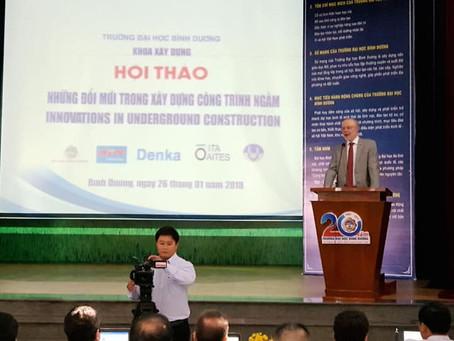 INTOC với Hội thảo Quốc tế về Công trình ngầm - ITA