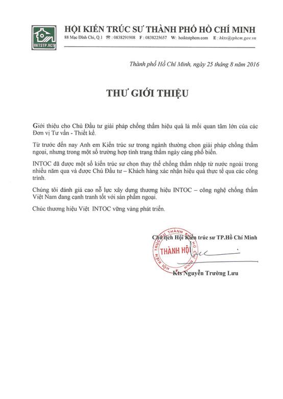 2. Hoi KTS TpHCM - KTS Nguyễn Trường Lưu