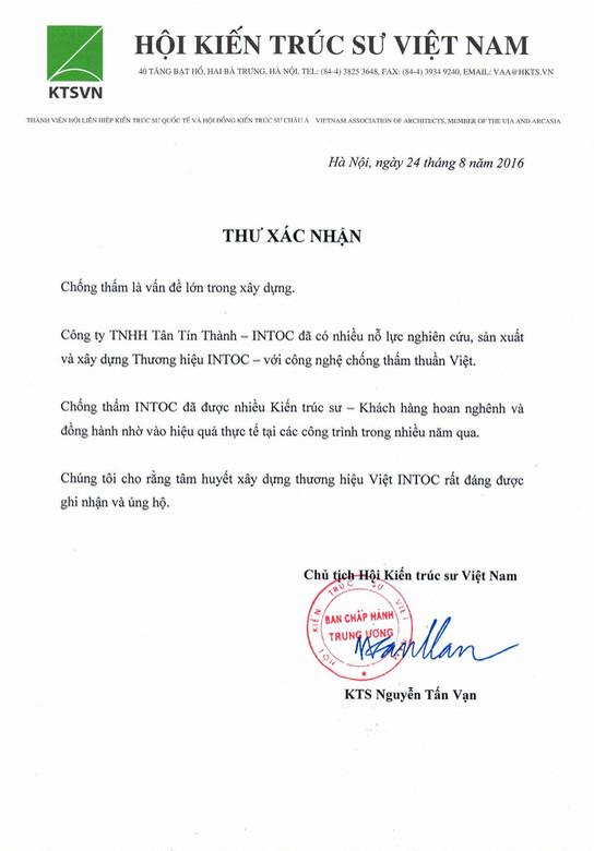 1. Hoi KTS Vietnam - KTS Nguyễn Tấn Vạn.