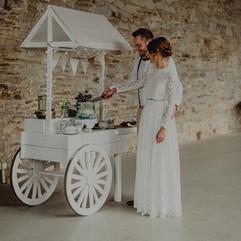 Liebe im Quadrat – Marktwagen / Candybar