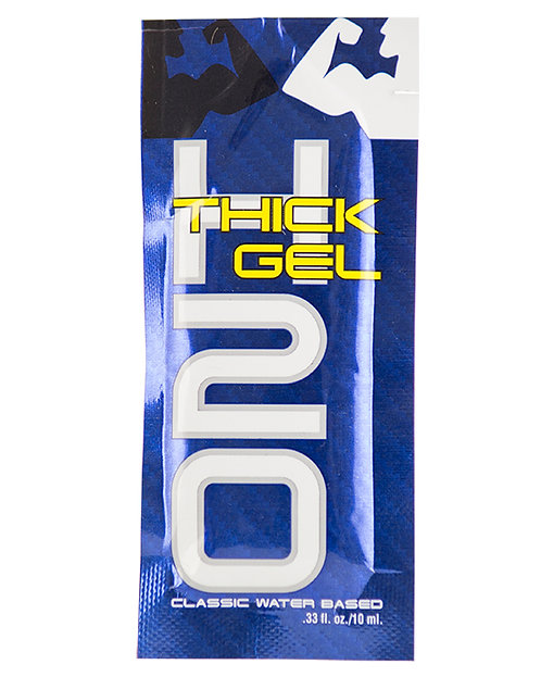 ELBOW GREASE H2O THICK/CLASSIC GEL SACHET 10ML