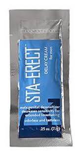 STA-ERECT DALAY CREAM FOR MEN  SACHET