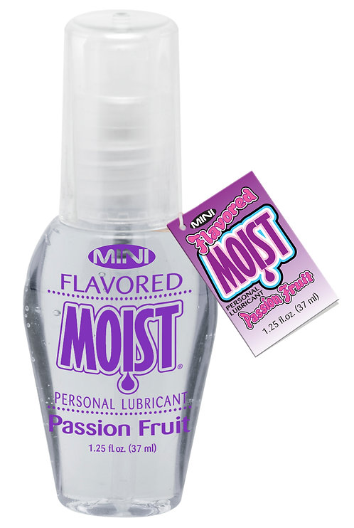 MINI FLAVORED MOIST 1.25 FL. OZ. PASSION FRUIT