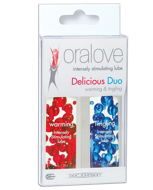 ORALOVE DYNAMIC DUO WARMING AND TINGLING