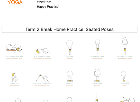 Home Yoga Practice - Seated Poses