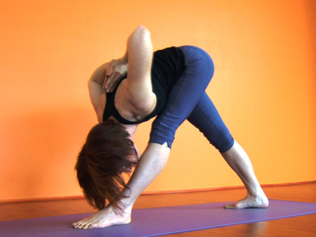 Placement & Action of the Feet in Intense Side Stretch (Parsvottanasan)