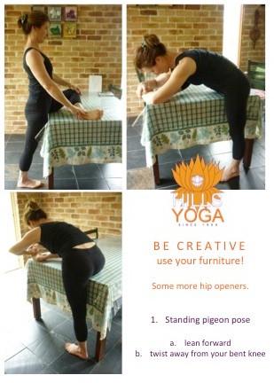 Hip stretch - Hills Yoga