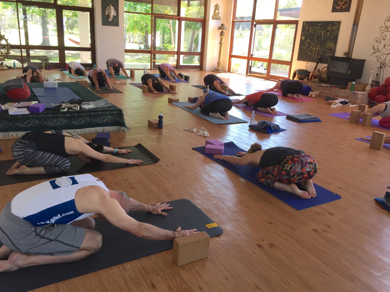 Hills Yoga Retreat 2018 Afternoon practi