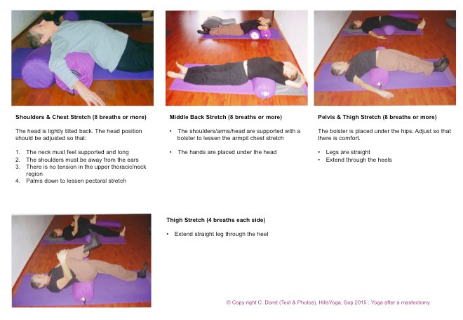 Breast cancer yoga practice P3 - Hills Yoga