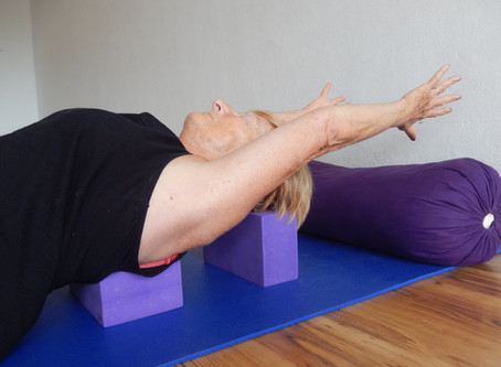 Study: Yoga Practice for a 78 year old student with a degenerative spine: Part 1