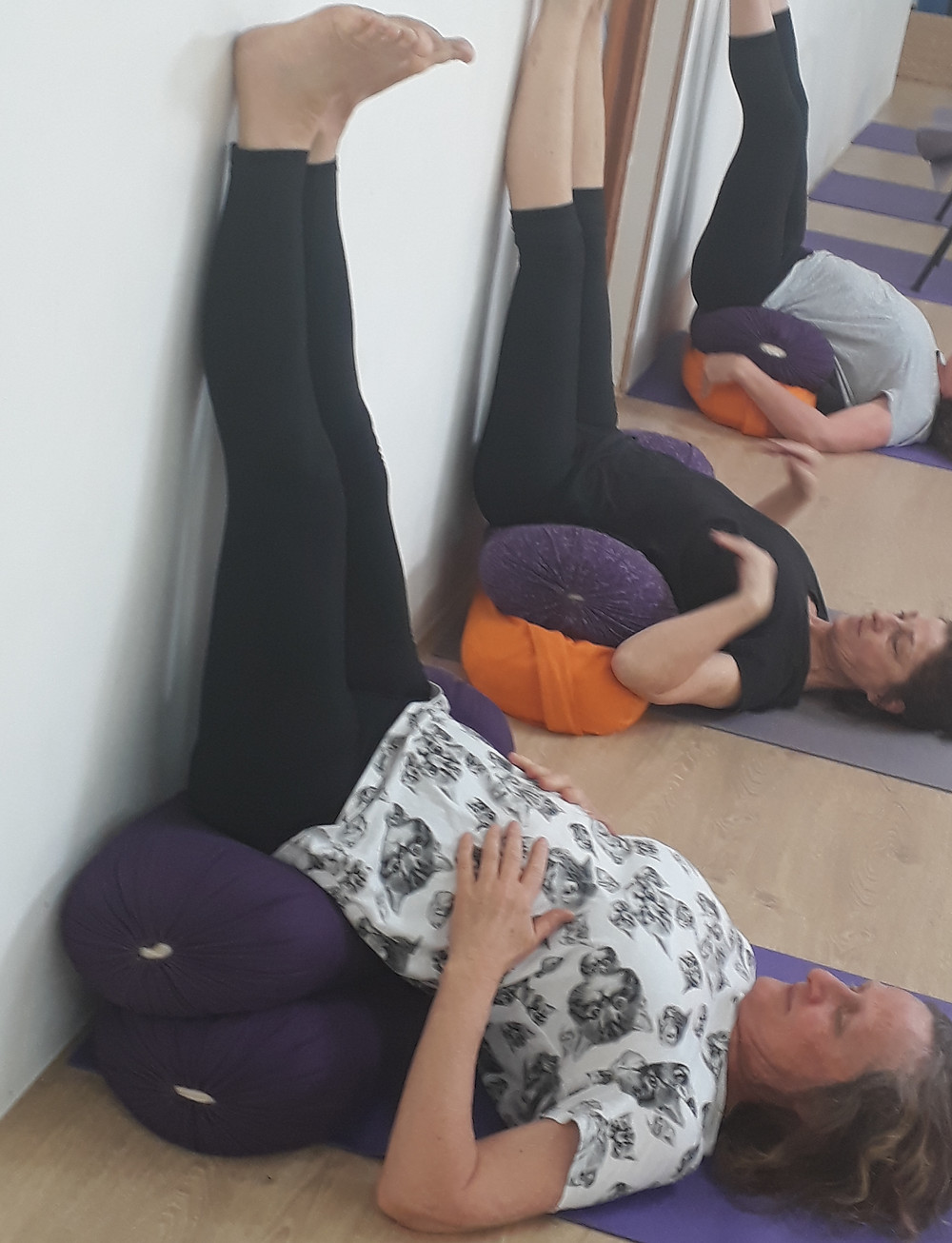 Legs up the wall - Hills Yoga