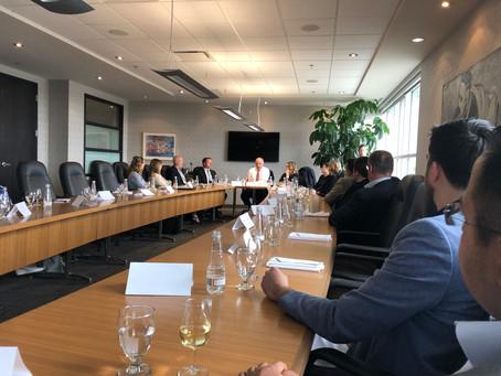 Rencontre avec le ministre de l'Économie et Innovation, M. Pierre Fitzgibbon