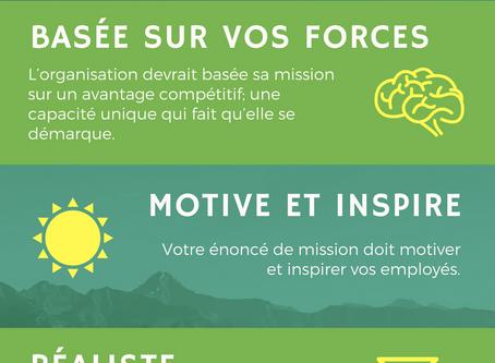 Les 6 caractéristiques d'une mission emballante!