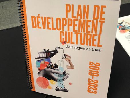 Dévoilement du Plan de développement culturel de la région de Laval