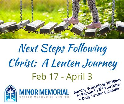 Next Steps Following Christ_ A Lenten Jo