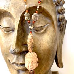 Buddha Tassel Necklace