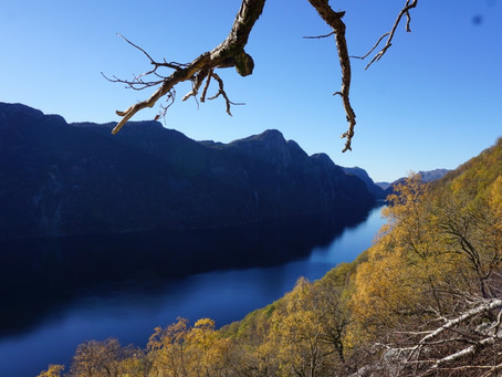 """Hatten"" i tidenes høstvær | Frafjord, Gjesdal, Rogaland"
