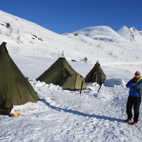 Lavvocamp m/topptursnacks   Turtagrø, Hurrungane, Sogn og Fjordane