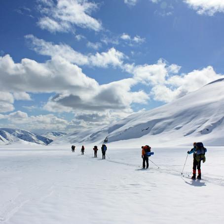 Norges største bre på langs   Jostedalsbreen, Norge