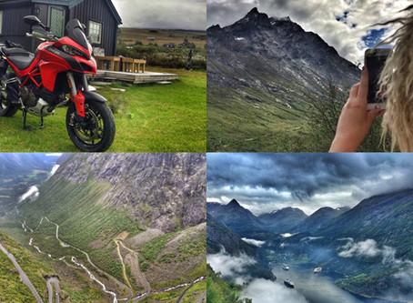 Våt roadtrip på to hjul | Sør-Norge