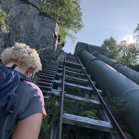 4444 trappetrinn   Flørli, Lysefjorden, Rogaland