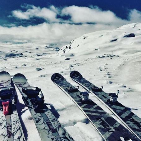 Toppturer i godværstreak   Rosendalsalpene, Norge