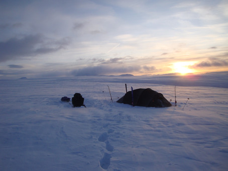 Rondane på langs midtvinters | Oppland, Norge