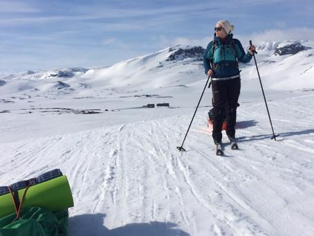 I Amundsens (første) skispor | Hardangervidda, Norge