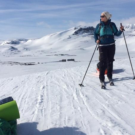 I Amundsens (første) skispor   Hardangervidda, Norge